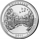 2011 US Oklahoma Chickasaw National Park Quarter Dollar Commemorative Copy Coin