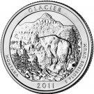 2011 US Montana Glacier National Park Quarter Dollar Commemorative Copy Coin