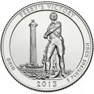 2013 US Ohio Perry's Victory National Park Quarter Dollar Commemorative Copy Coin