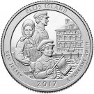 2017 US New Jersey Ellis Island National Park Quarter Dollar Commemorative Copy Coin