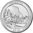 2010 US California Yosemite National Park Quarter Dollar Commemorative Copy Coin