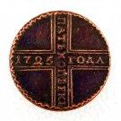 1725 Russia 5 Kopecks Copy Coin