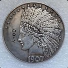 1907 United States 10 Dollars Indian Head Eagle Copy Coin