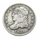 USA 1831 Capped Bust 5C Copy Coins