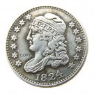 USA 1824 Capped Bust Dime 10C Copy Coins