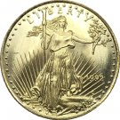 1992 United States 25 Dollar America Eagle Gold Copy Coin