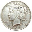 US 1964-D Peace Dollar Copy Coins