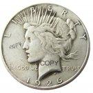 US 1926 Peace Dollar Copy Coins