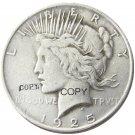 US 1925 Peace Dollar Copy Coins