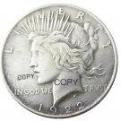 US 1922 Peace Dollar Copy Coins