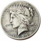 US 1921 Peace Dollar Copy Coins