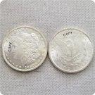 US 1880-S UNC Morgan Dollar Copy Coins