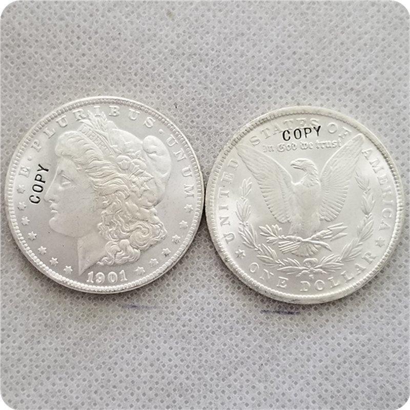 US 1901-S UNC Morgan Dollar Copy Coins