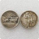 US 1939 Oregon Trail Memorial Half Dollar Copy Coins