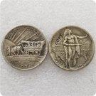 US 1939-D Oregon Trail Memorial Half Dollar Copy Coins