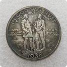 US 1938(1934)-S Daniel Boone Bicentennial Commemorative Half Dollar Copy Coins