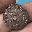 US 1863 Civil War New York Copy Coins