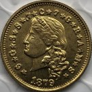 US 1879 Liberty Head One Stella 400 Cents Four Dollar Copy Coins