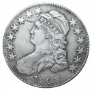 US 1808 Capped Bust 50C Half Dollar Copy Coins