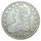 US 1809 Capped Bust 50C Half Dollar Copy Coins