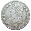 US 1810 Capped Bust 50C Half Dollar Copy Coins