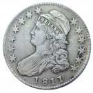US 1811 Capped Bust 50C Half Dollar Copy Coins