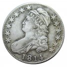 US 1814 Capped Bust 50C Half Dollar Copy Coins