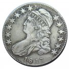 US 1817 Capped Bust 50C Half Dollar Copy Coins