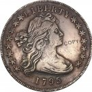 United States Of America Coin 1795 Liberty Draped Bust One Dollar Small Eagle Copy Coins