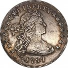 United States Of America Coin 1797 Liberty Draped Bust One Dollar Small Eagle Copy Coins