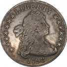 United States Of America Coin 1798 Liberty Draped Bust One Dollar Heraldic Eagle Copy Coins