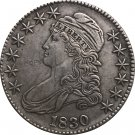 1830 United States 50 Cents ½ Dollar Liberty Eagle Capped Bust Half Dollar Copy Coins