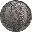 1829 United States 50 Cents ½ Dollar Liberty Eagle Capped Bust Half Dollar Copy Coins