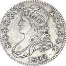 1822 United States 50 Cents ½ Dollar Liberty Eagle Capped Bust Half Dollar Copy Coins