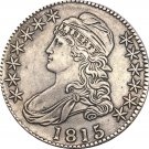 1815 United States 50 Cents ½ Dollar Liberty Eagle Capped Bust Half Dollar Copy Coins