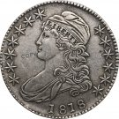 1818 United States 50 Cents ½ Dollar Liberty Eagle Capped Bust Half Dollar Copy Coins