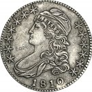 1810 United States 50 Cents ½ Dollar Liberty Eagle Capped Bust Half Dollar Copy Coins