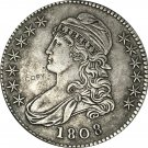 1808 United States 50 Cents ½ Dollar Liberty Eagle Capped Bust Half Dollar Copy Coins