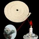 Cotton Wicks Burner for Oil Kerosene Alcohol Lamp 3m Long 3/16 Inch Diameter