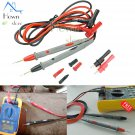 1000V 20A Ultra Sharp Alligator Clip Multimeter Probe Test Kit Banana Plug Probe