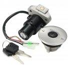 Ignition Switch Lock Key Gas Cap Yamaha FZR250 87-88 FZR400 88-90 FZR600 89-93
