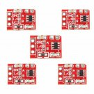 Capacitive Touch Switch Button Pcb Self-Lock Module For Arduino 5pcs
