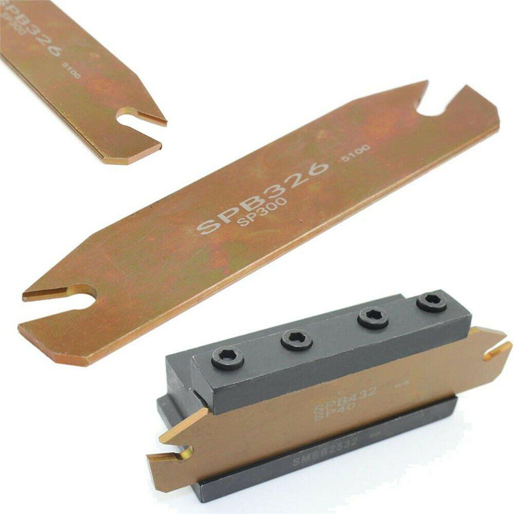 SPB26-3 26mm Blade Grooving Turning ZQMX 3N11-1E SP300 Insert SMBB1626 Holder
