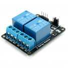Relay Module With Optocoupler Protection DC5V 2 Way 2CH Channel 250V 10A