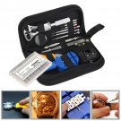 Watch Repair Tools Kit Watchmaker Back Case Remover Opener Pin Spring Bar