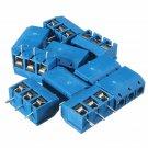 PCB Mount Block Screw Terminal NF Connector 5mm KF-301 3 Pin 10pcs