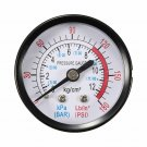 "Pressure Gauge 1/4"" BSP Thread 0-180PSI 0-12Bar Air For Air Compressor Iron Hown store"