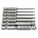1/4 Inch Hex Shank magnetic screwdriver bit set S2 Impact Ready Tool kit