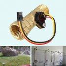 "Water Sensor Hall Effect Liquid Flow Meter Switch 1/2"" Thread Brass for Arduino"
