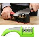 Knife sharpener system tool kitchen standard honed stone blade grit system tool